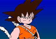 Imagen del juego: Pintar a Son Goku
