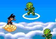 Imagen del juego: Dragon Ball Z: Defensa en la nube kinton