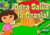 Imagen del juego: ¡Dora salva la granja!