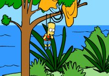 Bart Simpson Island Escape
