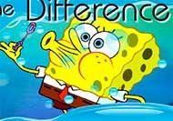 Busca la diferencia con Bob Esponja