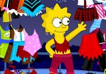 Imagen del juego: Viste a tu Lisa Simpson