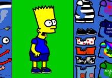 Viste a Bart con su ropa y accesorios