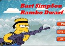 Imagen del juego: Bart Simpson Rambo Dwarf