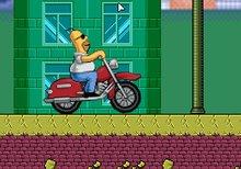 La motocicleta de Homer Simpson