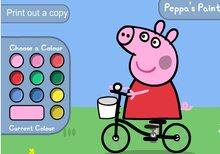 Pinta a Peppa Pig y a George