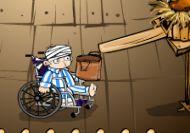 El chico de la silla de ruedas y los huevos de las gallinas