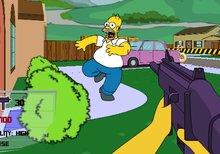 Imagen del juego: Los Simpson: Shooter 3D