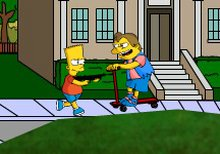 The Simpsons Bart rampage