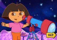 Las aventuras de Dora en el planeta Púrpura