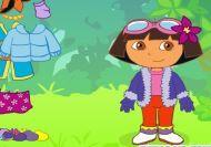 Imagen del juego: Viste a Dora la exploradora