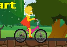 Lisa Simpson y su Bicicleta de paseo