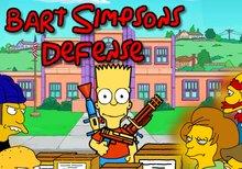 Imagen del juego: Bart Simpson defense