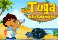 Diego y Tuga la torguga marina