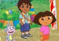 Puzzle de Dora, Diego y Botas