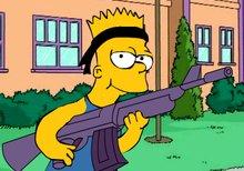 Imagen del juego: Rambo Bart Simpson