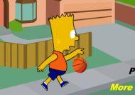 Tiros libres con Bart Simpson