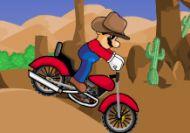 Imagen del juego: Cowboy Mario Bike