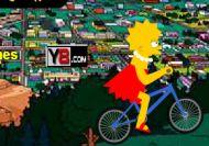 Imagen del juego: La bicicleta de Lisa Simpson