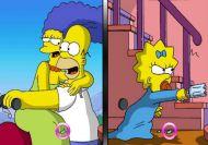 Imagen del juego: Las similitudes de los Simpson