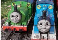Imagen del juego: Puzzle de los amigos del tren Thomas - Dificultad media