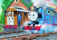 Ordena la imagen del tren Thomas