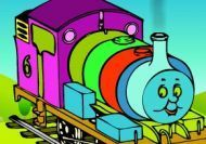 Coloreando a Thomas