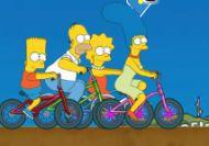 El ciclocrós de los Simpson