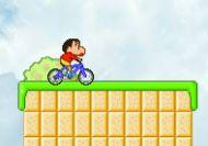 Shin Chan paseo en bicicleta