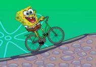 Imagen del juego: La bicicleta de Bob Esponja