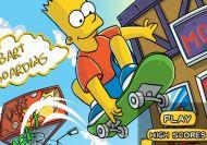 Imagen del juego: Bart Boarding