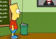 Bart Simpson Saw Game