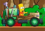 Imagen del juego: Barts Kart