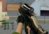 Francotirador en la batalla