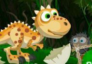 El dinosaurio Donald