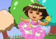 Imagen del juego: Dora en el mundo de las flores