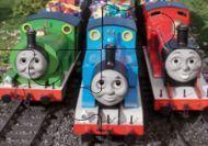 Puzzle de los amigos del tren Thomas - Dificultad fácil