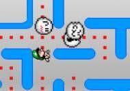Imagen del juego: Baby Luigi Pacman