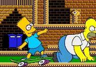 Imagen del juego: Juego de los Simpsons de disparar