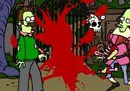 Imagen del juego: Juego de los simpsons y los zombies