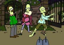 Juego de los simpsons y los zombies