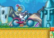 Imagen del juego: Motocross de Bob Esponja