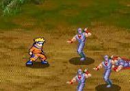 Imagen del juego: Naruto's Kunai Training Game