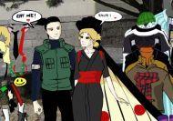 Vestir a Shikamaru y Temari