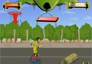 Imagen del juego: Scooby Doo Skate Race