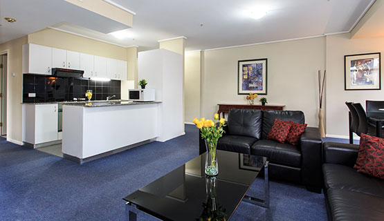Empire Twin Suite Deluxe Accommodation Melbourne
