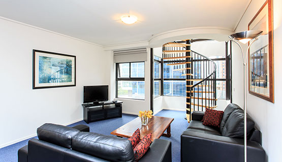 Boulevard Double Suite Deluxe Apartments Melbourne