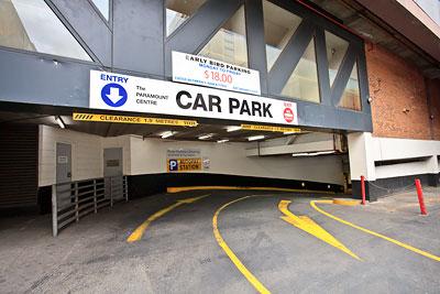 Paramount Car Park Melbourne
