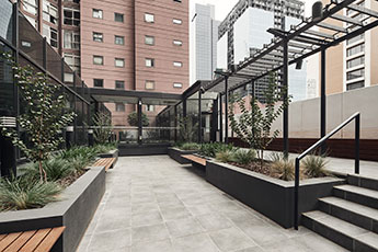 Melbourne Serviced Apartments Terrace Garden