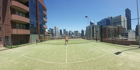 Melbourne Accommodation Tennis Court